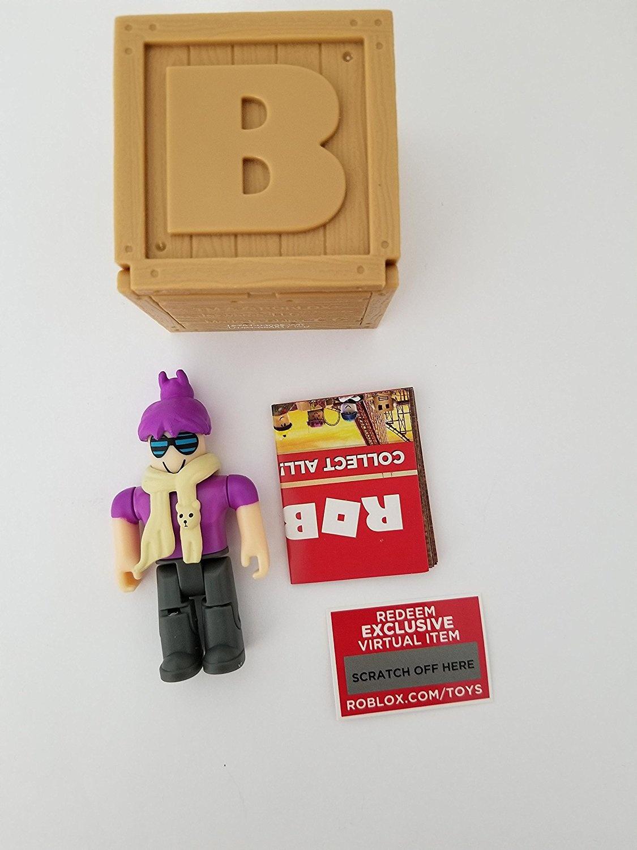 ROBLOX Series 2 BrightEyes action Figure mystery box + Virtual Item Code  6 4cm