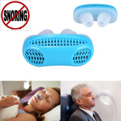 Anti Snoring Devices, Snore Stopper Air Cleaning Breathing Device Nose Clip Sleeping Equipment Defence Nose Nasal Filters - Ease Breathing Stop Snoring Instantly!