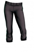 Easton Womens Pro Pipepant, Black/Green, XX-Large