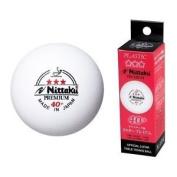 Nittaku 3-Star PREMIUM 40+ Table Tennis Balls Plastic Ball Cell-Free