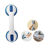 Henweit Bathroom Grip Handle Bath Suction Grab Bar Safety Shower Tub Support Bathing for Kid Old People Disability