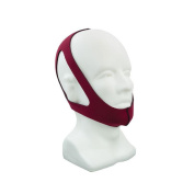 Roscoe Medical - 3 Point Chin Strap, Small, Ruby Red - CM