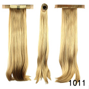 PrettyWit 50cm Curly Pony Tail Ponytail Hair Extensions Hairpiece Wig Wrap Around