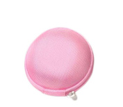 ReachTop Carrying Hard Case Bag for Earphone Headphone iPod MP3,pink