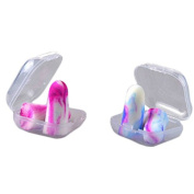 ReachTop Soft Foam Hearing Protection Earplugs( 2 package),colourful,in bags