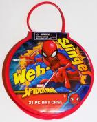 Marvel Spiderman 21 Piece Art Case