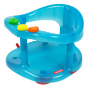 Baby bath ring seat activity seat kids tub chair blue