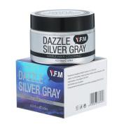 Y.F.M Hair Colour Wax Disposable Hair Mud Dye Cream Silver Grey for Men Women