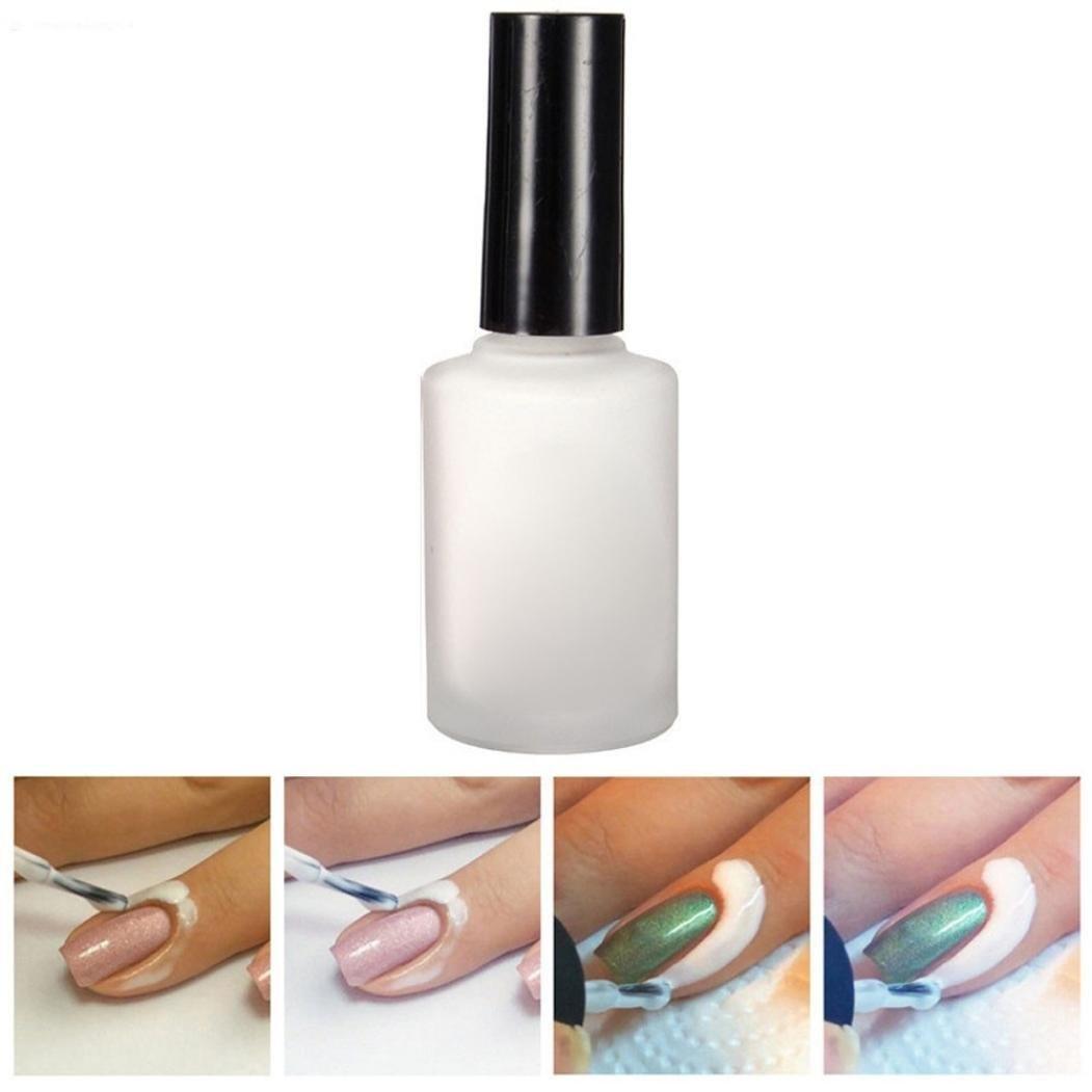 Skin Protector for Nail Art,Liquid Latex Peel Off Tape Cuticle Guard ...