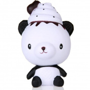 Panda Rising Toy,Exquisite Fun Q Poo Panda Scented Squishy Charm Slow Rising 13cm Simulation Toy By Dacawin