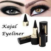 Women Waterproof Eye Liners, Lotus.flower Eyes Makeup Pencil Longwear Black Gel Stickers Eyeliner