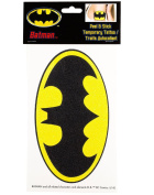 Batman Glittery Logo Peel and Stick Temporary Arm Tattoo