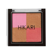 Hikari Shimmer Blush & Bronzer Quad in Flush - Travel Size Ipsy Exclusive