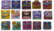 15 Flavoured Lip Balms Party Pack -Chocolate, Nerds, Cotton Candy and More