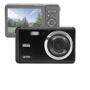 "GDC80X2 Compact Digital Camera with 8x Digital Zoom / 12 MP / HD Compact Camera / 3"" TFT LCD Screen"