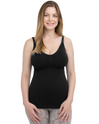 Kindred Bravely Simply Sublime Maternity & Nursing Tank with Built-In Bra