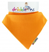 DribbleOns Bib - 0-24 Months, Orange