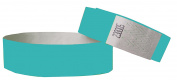 Tyvek Wristbands 1.9cm 100 pack, Paper like Bracelets used for events, nightclubs, waterparks etc. Choose from 17 colour varieties