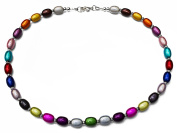 Multi-Coloured Miracle Bead Costume Fashion 46 cm Necklace.