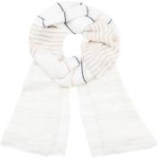 Faded Glory Women's Deco Stripe Oblong Fashion Scarf