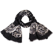 Faded Glory Women's Paisley Floral Fashion Scarf