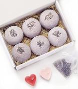 Ylass 8 Bath Bombs - USA Made - Gift Set Ideas - Gifts For Women, Mom, Girls, Teens, Her - Ultra Lush Spa Fizzies - Best Gift Ideas - Add to Bath Bubbles, Basket, Bath Beads - Bath Pearls
