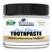 Viva Doria Fluoride Free Natural Mineralizing Toothpaste - Spearmint