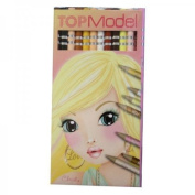 Depesche Top Model Coloured Pencil Set Skin and Hair Colours