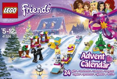 LEGO 41326 Friends Advent Calendar 2017 Construction Toy