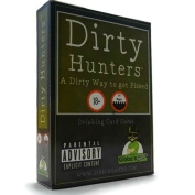 Dirty Hunters - Drinking Game - Adult Party Card Game - 3-6 Players