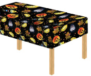 Davies 11789 Halloween Party Cutie Pumpkin Witch Table Cover