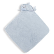 Demdaco Baby Hooded Bath Towel, Shark
