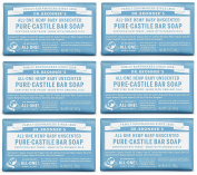 Dr. Bronner's Pure-Castile Bar Soap - Baby Unscented, 150ml