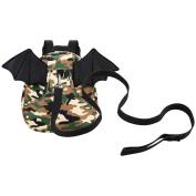 Kivors Kids Toddler Backpacks Child Carrier Animal Snack Backpacks Preschool Bags with Safety Harness Leash, Bat, Camouflage