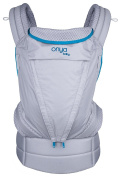 Onya Baby Pure Baby Carrier - Atoll Blue/Granite
