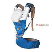 Fresh Shine Baby Hip Seat Carrier, Winter, Royal Blue, Perfect for Baby, Toddlers and Infants