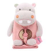 Metoo Kids Plush Animal Backpack with Leash 23cm