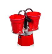 Bialetti 6190 Express Set Mini, Red