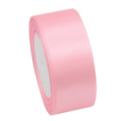 Silk Satin Ribbon Wedding Party Festive Event Decoration Crafts 40Mm 22 Metres Pink