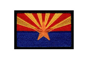 Arizona State Flag AZ tactical morale Hook Patch