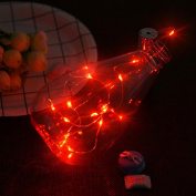 Garden Light HP95(TM) 75CM Fairy Lights LED Bright Colourful Bottle Light Kit Battery for Bistro Tents Market Cafe Gazebo Porch Wedding Party Decor