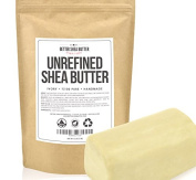 Unrefined Shea Butter by Better Shea Butter - African, Raw, Pure - Use Alone or in DIY Body Butters, Lotions, Soap, Eczema & Stretch Marks Products, Lotion Bars, Lip Balms and More! - 0.5kg