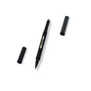 Waterproof Automatic Eyeliner & Eyebrow pencil Long-lasting Eyeliner double head makeup cosmetic tools Light Brown-3#