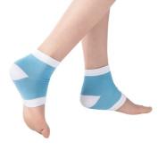 LOTGO Perfect Star Spa Moisturising Gel Soft Socks Open Toe Dry Cracked Heel Care Skin Repair Therapy Treatment