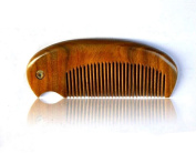 Acupress No Static Handmade Premium Quality Natural Green Sandalwood Combs Pocket Combs