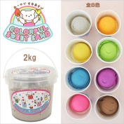 Pass on a rainy day on the day when mysterious sand colourful sweet sand of // mother garden targeted for a ice person fair is hot; unpleasant, is play with sand _.2 kg of sand with bucket_ | Is ...; | with the fragrance Colour eight colours |