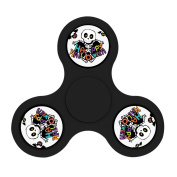 Pandazc Kulls Fidget HAND Spinner Kill Time Toy with Ultra Speed Deep Groove Bearings- Autism Toys Best Boredom Reducer Stress Toy Hand Spinner Fidget Toy for Kids & Adults