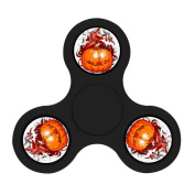 Pandazc Pumpkin Fidget HAND Spinner Kill Time Toy with Ultra Speed Deep Groove Bearings- Autism Toys Best Boredom Reducer Stress Toy Hand Spinner Fidget Toy for Kids & Adults