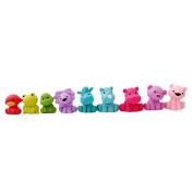 ShungHO 9Pcs Mixed Animals Colourful Fun Bath Toy Bath Squirters for the Tub