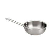World Cuisine Paderno Triple Ply Stainless Splayed Saute Pan, 1 5/7.6l -- 1 each.